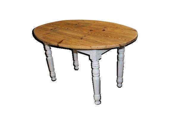 Table ovale à rabats