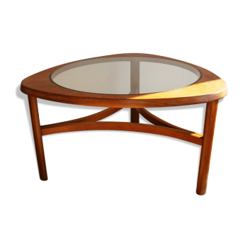 Table basse style scandinave d 39 occasion - Table basse teck et verre ...