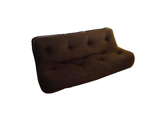 canap kali ligne roset michel ducaroy 3 places tissu marron bon tat design. Black Bedroom Furniture Sets. Home Design Ideas