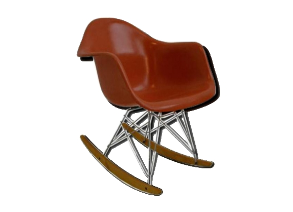Rocking chair 'Rar' de Charles et Ray Eames