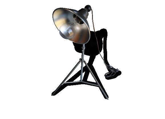 Projecteur sur trepied téléscopique indus