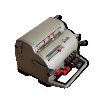 Machine à calculer Précisa M 117 vintage