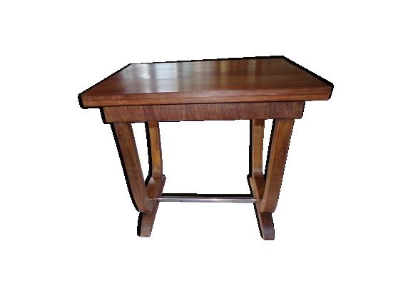 Table art déco en sapin années 1930