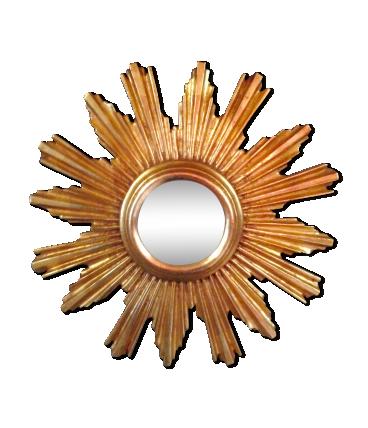 Meubles d occasion et deco vintage selency une autre for Miroir soleil oeil sorciere