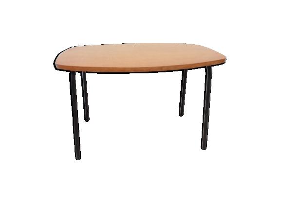 petite table basse ann es 60 bois mat riau bois couleur bon tat vintage. Black Bedroom Furniture Sets. Home Design Ideas