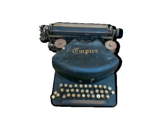 """Machine à écrire très ancienne """"Empire """""""