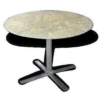 table en marbre vintage d 39 occasion. Black Bedroom Furniture Sets. Home Design Ideas