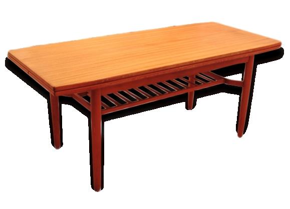 Table basse design scandinave 1960