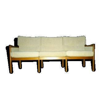 1 canapé sofa scandinave CASALA années 50 60