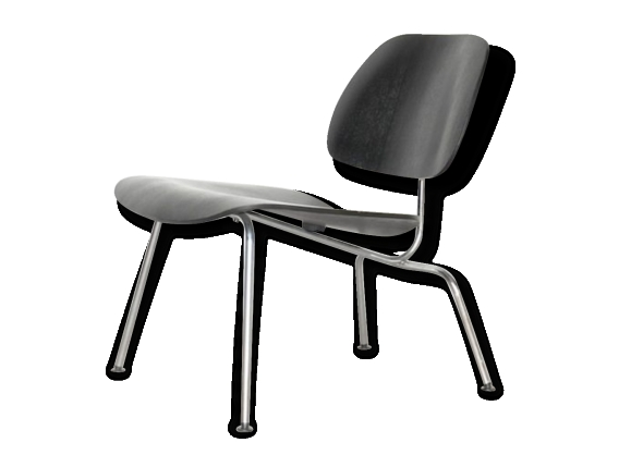 Chauffeuse LCM Charles and Ray Eames for Vitra
