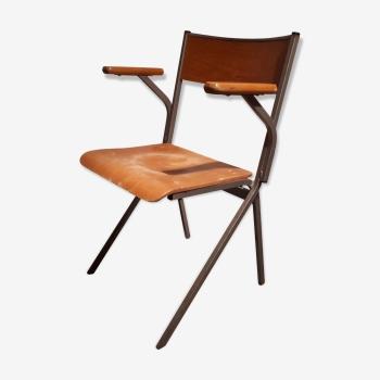 Chaise d'atelier années 60