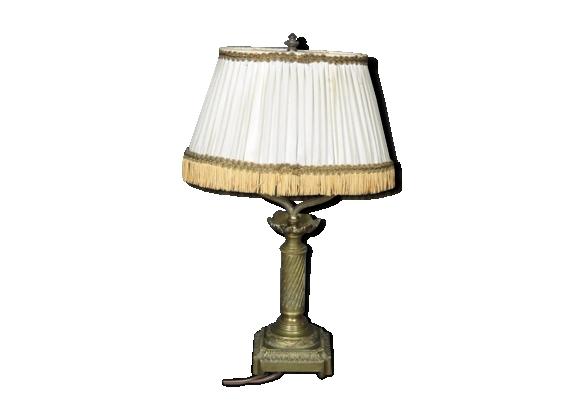 Lampe de style Louis XVI en bronze