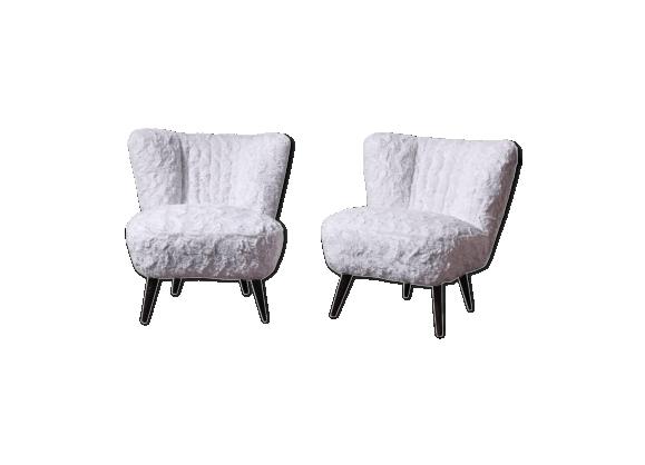 fausse fourrure achat vente de fausse pas cher. Black Bedroom Furniture Sets. Home Design Ideas