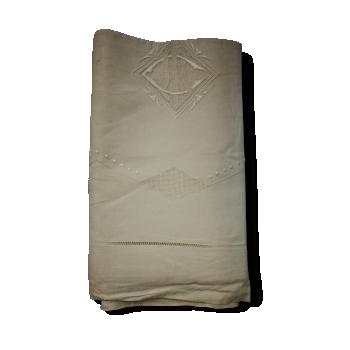 Linge ancien draps nappe torchon for Draps en lin ikea