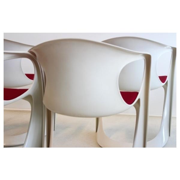 Chaise plastique transparent design id e inspirante pour la co - Peindre chaise plastique ...
