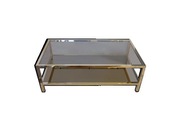 table basse miroir. Black Bedroom Furniture Sets. Home Design Ideas