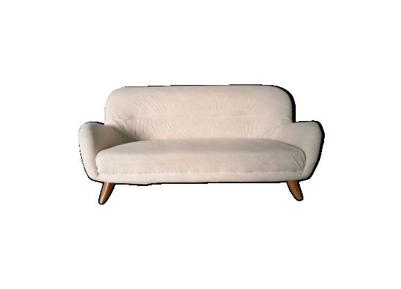 Canapé années 50 60 beige
