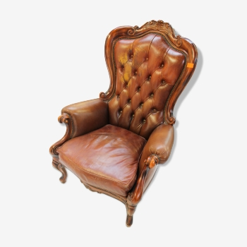 Fauteuil rocaille