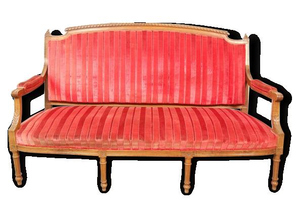 canape ancien style louis xvi. Black Bedroom Furniture Sets. Home Design Ideas