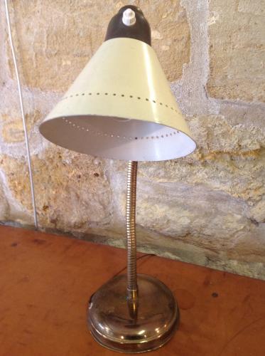 lampe a poser annees 50