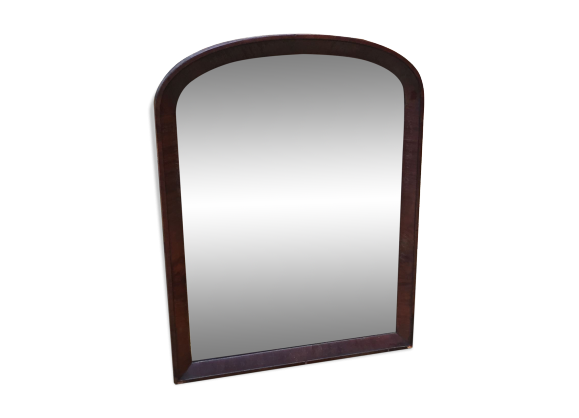 Miroir anglais fin xixeme bois mat riau bois for Miroir largeur 50