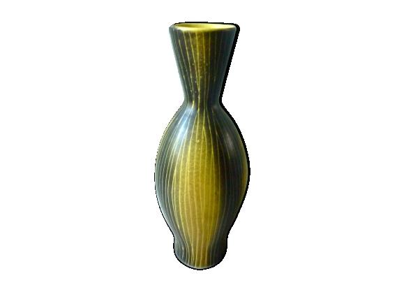 Vase bicolore Saint Clément des années 50-60
