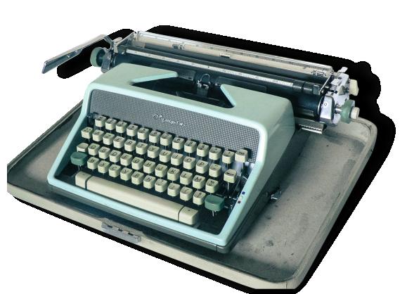 Machine à écrire Olympia DeLuxe