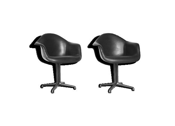 Paire de chaises 'La Fonda' par Charles & Ray Eames pour Herman Miller 1960s