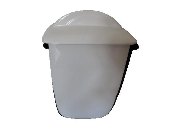 Pot en céramique blanc Art déco