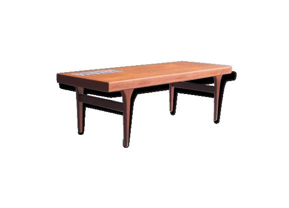 table basse en teck Johannes Andersen modèle 299