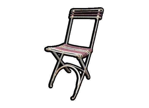 chaises fer forg. Black Bedroom Furniture Sets. Home Design Ideas