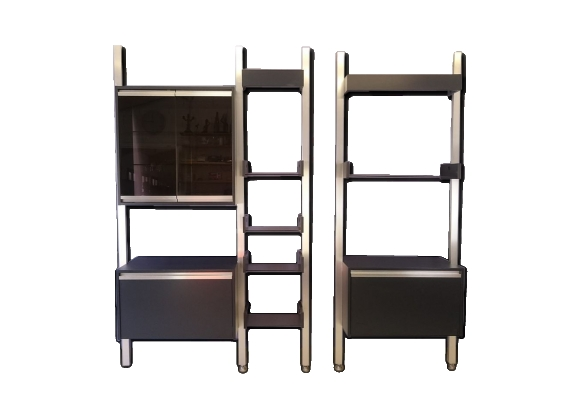 biblioth que modulable achat vente de biblioth que pas cher. Black Bedroom Furniture Sets. Home Design Ideas