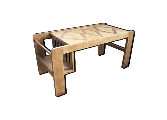 Table basse porte revue