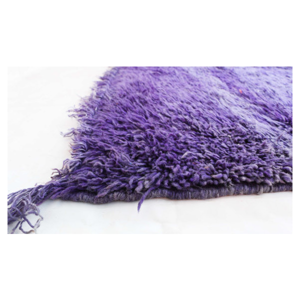Tapis Beni M Guild Violet 194x294 Cm Tissu Violet