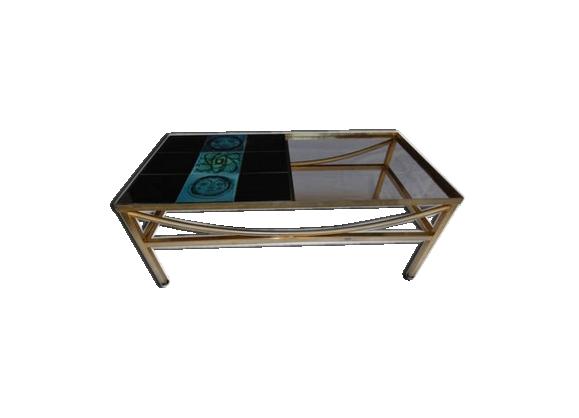 Tables De Dos De Canapé Dekoglas Ikea Table Basse En Verre