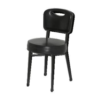 Chaise provenant de l'hippodrome de Longchamp 1960