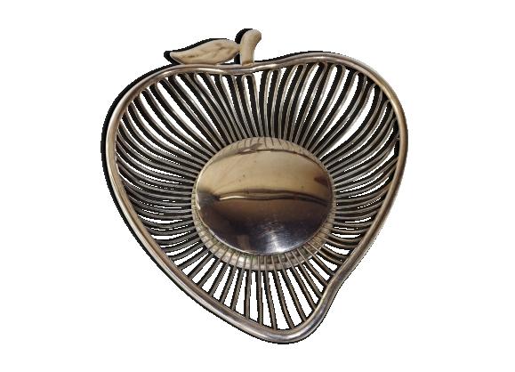 Coupe fil de métal pomme vintage