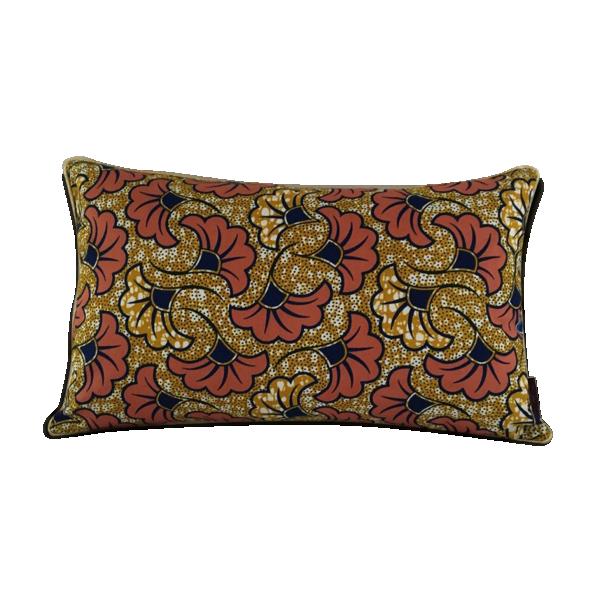housse de coussin fleur de mariage rose rectangle 50x30cm tissu rose bon tat thnique. Black Bedroom Furniture Sets. Home Design Ideas