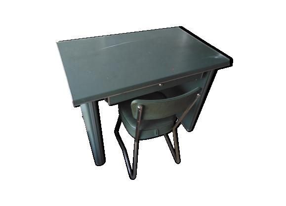 chaise bureau industrielle. Black Bedroom Furniture Sets. Home Design Ideas