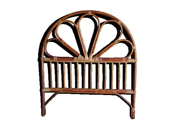 lit rotin achat vente de lit pas cher. Black Bedroom Furniture Sets. Home Design Ideas