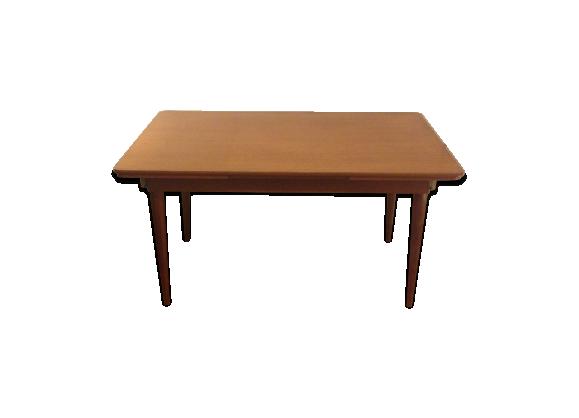 Table de salle manger des ann es 50 60 bois mat riau for Table de salle a manger annee 60