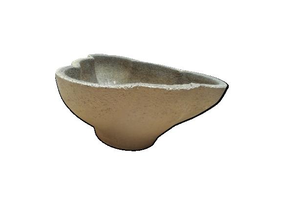 Jardinière vasque en ciment vintage