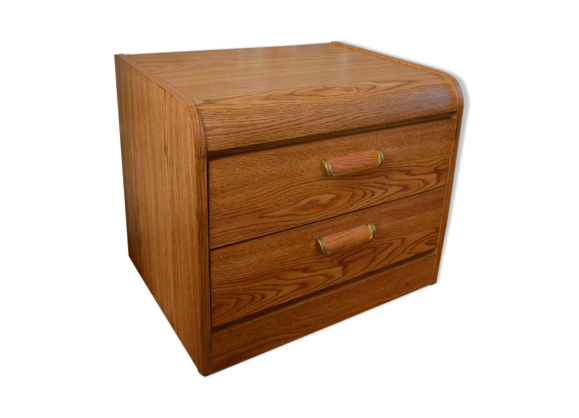 petite commode vintage des ann es 70 bois mat riau bois couleur bon tat vintage. Black Bedroom Furniture Sets. Home Design Ideas