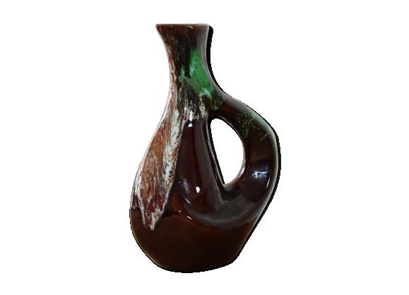 Pichet en céramique- potterie peint à la main