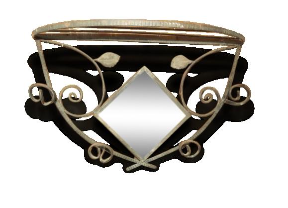 Miroir en fer forg noir romance of miroir fer forge noir for Miroir fer forge noir