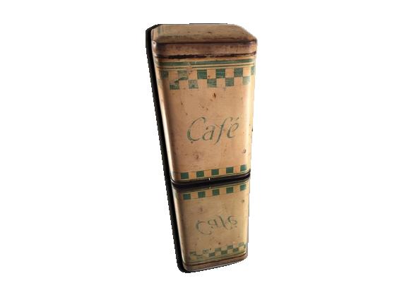 Boite à café vintage