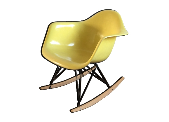 Rocking chair RAR par Charles & Ray Eames pour Zenith 1955