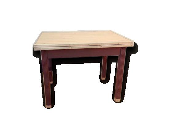 Grande table de bistro/cuisine (maximum 8 personnes)