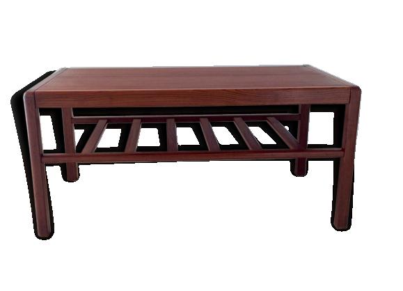 Table basse scandinave en teck datant des ann es 60 teck bois couleur bon tat Table basse scandinave annee