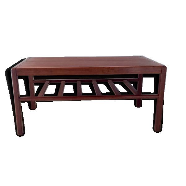 Table basse scandinave en teck datant des ann es 60 teck for Table basse scandinave couleur